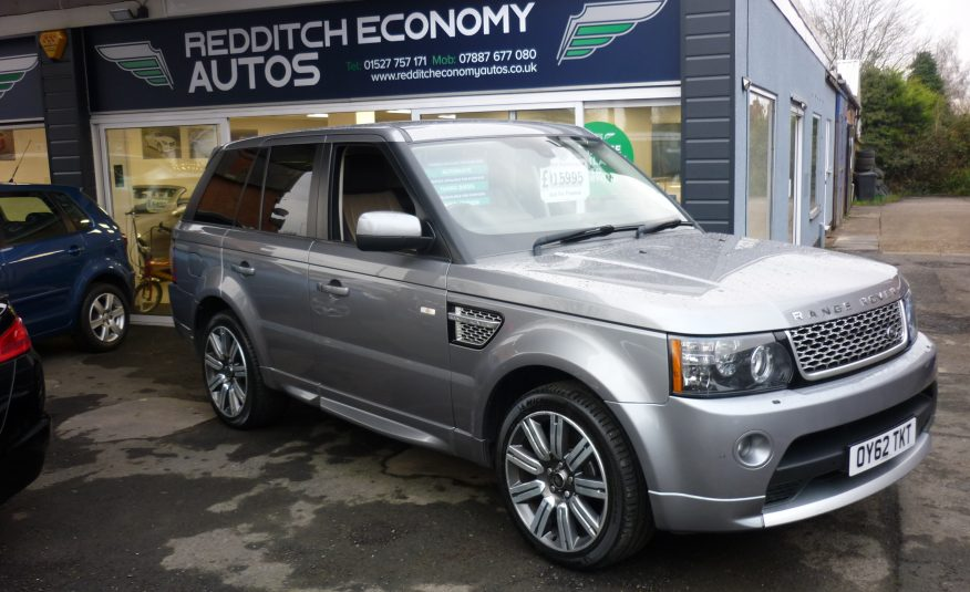 RANGE ROVER SPORT 3.0 SDV6 AUTOMATIC AUTOBIOGRAPHY – 62 PLATE