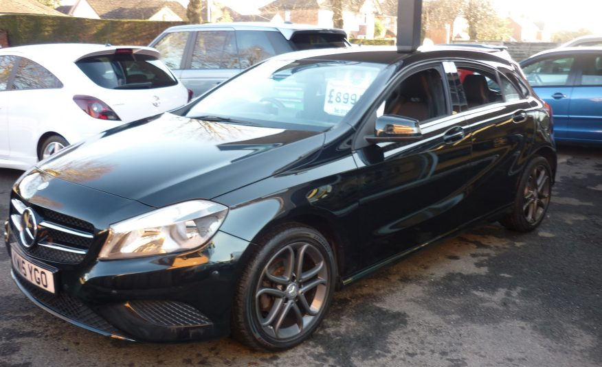 MERCEDES BENZ A180 CDi SE AUTOMATIC – 15 PLATE ONLY 49,930 MILES