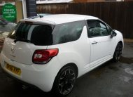CITROEN DS3 BLACK AND WHITE 1.6HDI 90 – 60 PLATE, ONLY 71,000 MILES