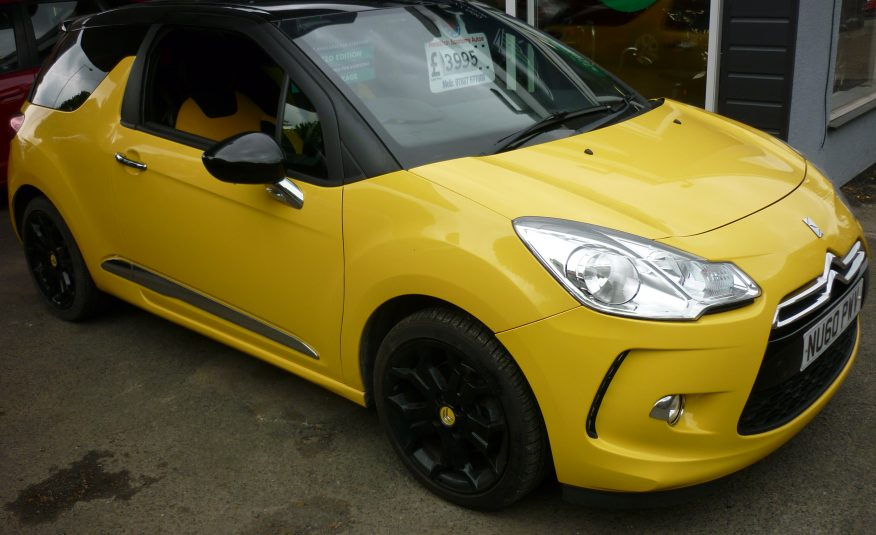 CITROEN DS3 1.6 THP D SPORT, ONLY 57,773 MILES-60 PLATE