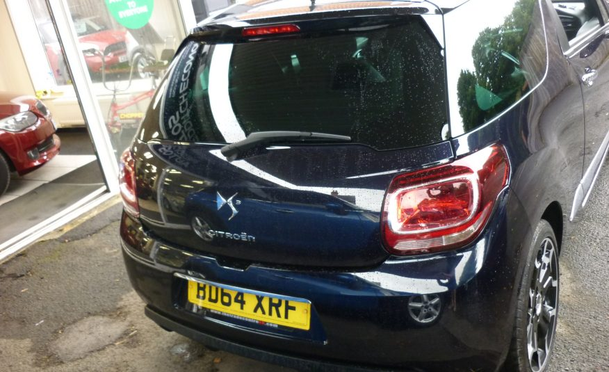 CITROEN DS3 1.6 HDI D STYLE+ – 64 PLATE – ONLY 73,400 MILES