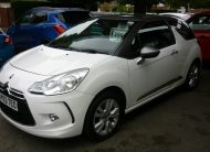 CITREON DS3 1.6 PETROL D STYLE – 63 PLATE
