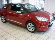 CITROEN DS3 D STYLE HDI 1.6 TURBO DIESEL- ONLY 50,224 MILES – 63 PLATE